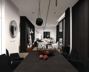projektowanie wnętrz domów jednorodzinnych
